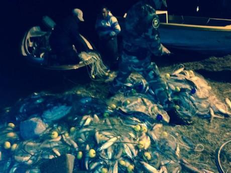 Trenque Lauquen - pesca clandestina