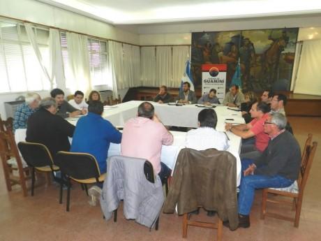 Guaminí - Comité de Cuenca reunión