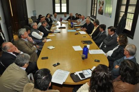 Trigo reunión ministerio Agroindustria Buenos Aires