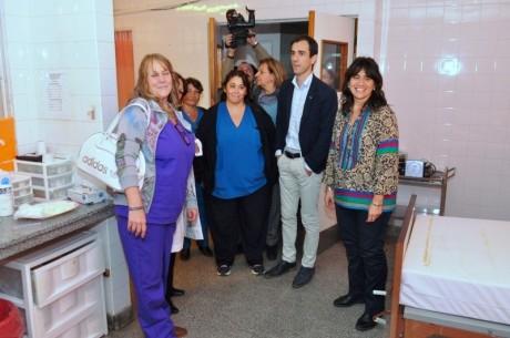 Ministra de Salud en Junín
