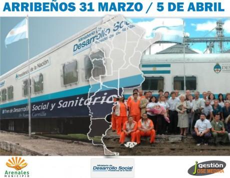 General Arenales - Tren sanitario
