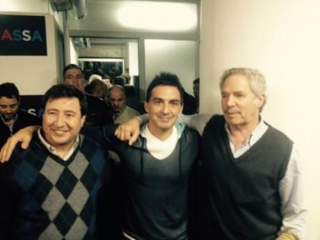 Felipe Solá y Daniel Arroyo
