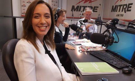Vidal, María Eugenia en Radio Mitre