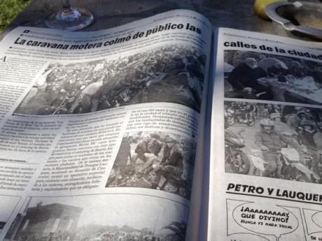 La Opinión - Edición del domingo - Encuentro de Motos