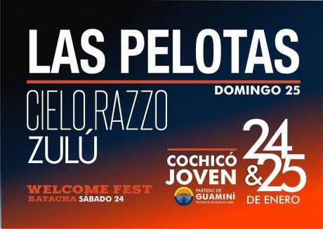 Guaminí - afiche Las Pelotas