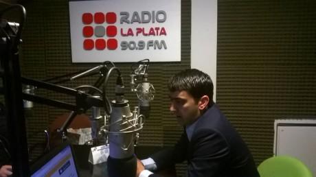 Albisu, Hernán en Radio La Plata
