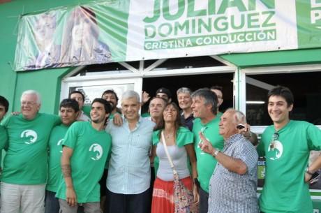 Domínguez en La Lucila del Mar