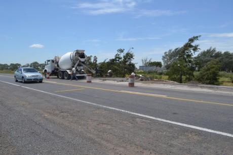 Pehuajó - rotonda acceso Kirchner