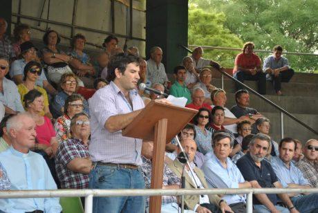 Costa, Bernardo foto de la inauguración el año anterior