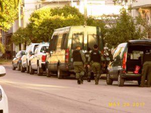 Carlos Casares operativo antidrogas. Foto: extraída del FB Crónica Local