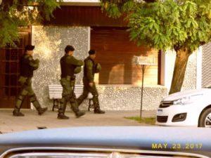 Carlos Casares operativo antidrogas. Foto: extraída del FB Crónica