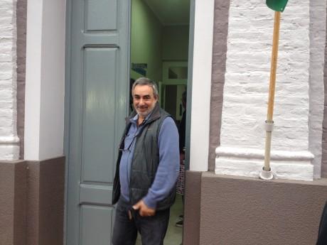 Fernández, Miguel - Saliendo de la delegación de Beruti