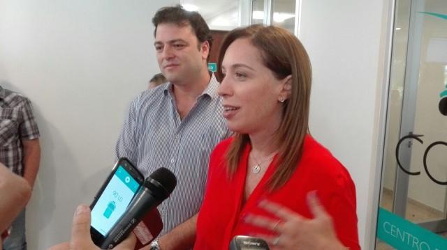 María Eugenia Vidal visita 9 de Julio