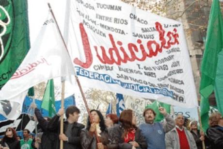 Judiciales - movilización (archivo)