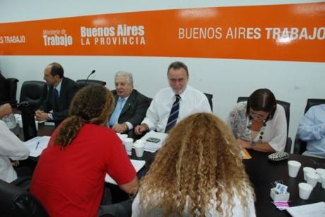Buenos Aires - Paritarias estatales