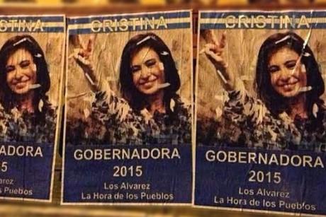 Afiches - Cristina Gobernadora