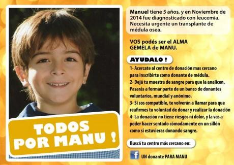 Manu - Campaña