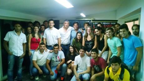 Jóvenes con Massa en La Pampa