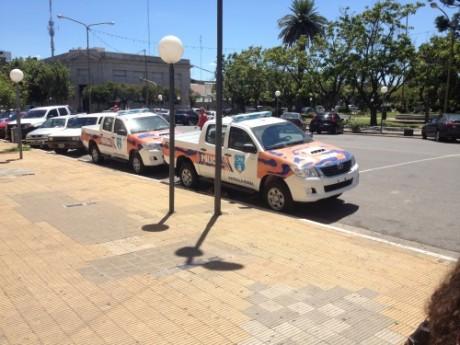 Policía Móviles Patrulla Rural