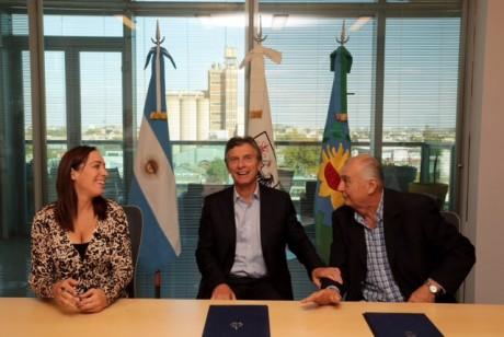 Tkacik, Macri y Vidal