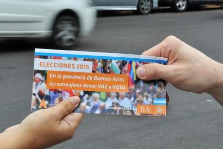 Voto extranjero - Campaña