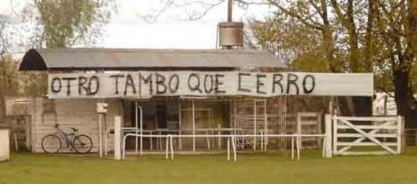 Tambo cerrado