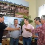 Garré - Alvarez, Buil y Fernández hablan con los medios