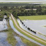 General Villegas inundación