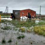 General Villegas barrio inundado