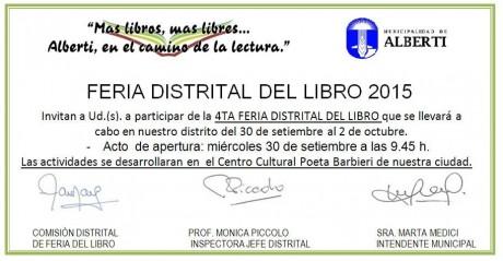 Alberti - Feria del Libro