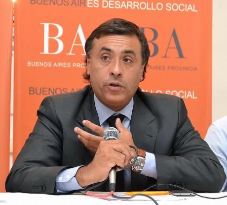 Aparicio - Ministro Desarrollo Buenos Aires