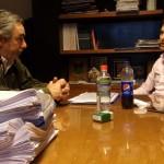 Fernández Miguel con Van Tooren
