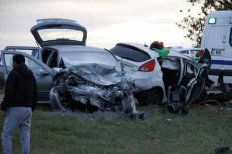 Accidente General Pico - Foto: infopico.com