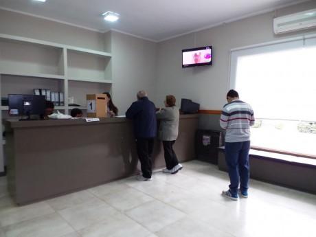 Berutti - Interior de la delegación
