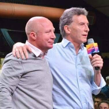 Macri y Mac Allister en la campaña electoral del 2015