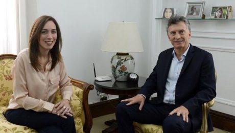 Vidal con Macri
