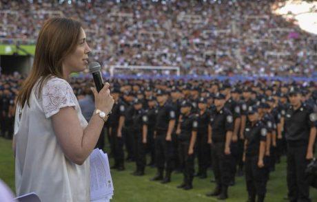 Vidal, María Eugenia anuncio Policía