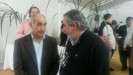 Trenque Lauquen - Fernández con el vicegobernador Salvador