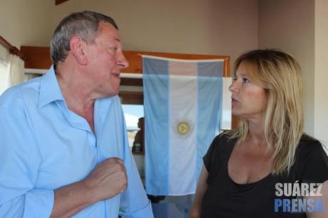 Coronel Suárez - Intendente y ministra de Gobierno