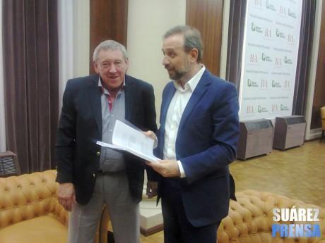 Coronel Suárez - Intendente con Gustavo Marangoni