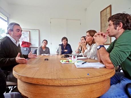 Trenque Lauquen - Fernández con la Sociedad Rural