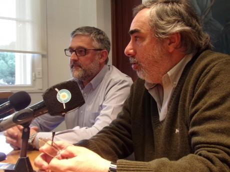 Fernández con Villegas