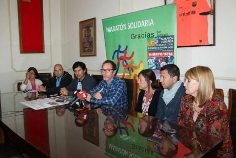 Carlos Casares - Anuncio Maratón Solidaria