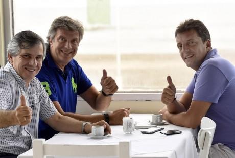 Mauricio D´Alessandro y Guillermo Britos