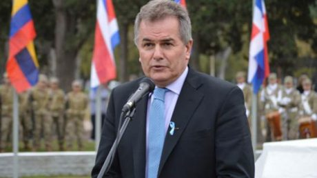 Gay, Héctor intendente Bahía Blanca