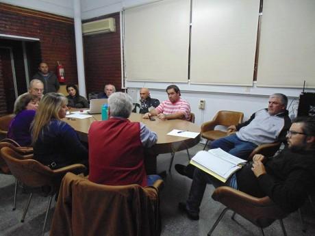 Concejo Deliberante Trenque Lauquen - Reunión con Sindicato Municipales