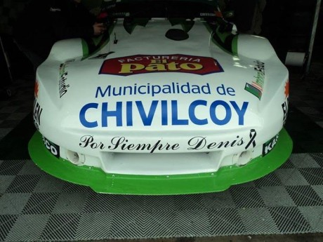 Homenaje del TC Mouras a Denis Martin