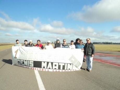 Homenaje a Denis Martin