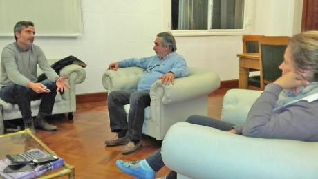 Fernández, Miguel con Ingeniero Wadel