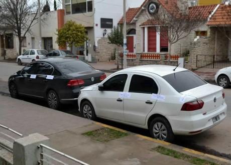 La Pampa - autos secuestrados